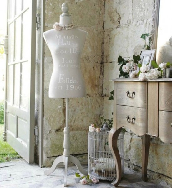 Decorar con maniquíes vintage :: Decorate with vintage mannequins_11