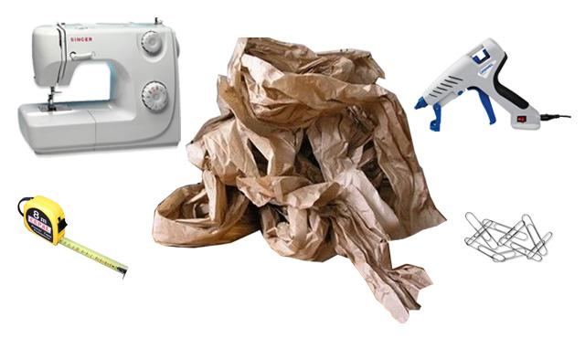 *My new home* DIY - Cesta de papel reciclado - Recycled paper basket_materiales