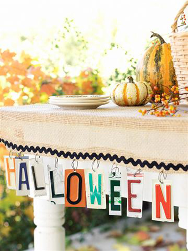 Halloween Decorate with pumpkins  - Decorar con calabazas_01