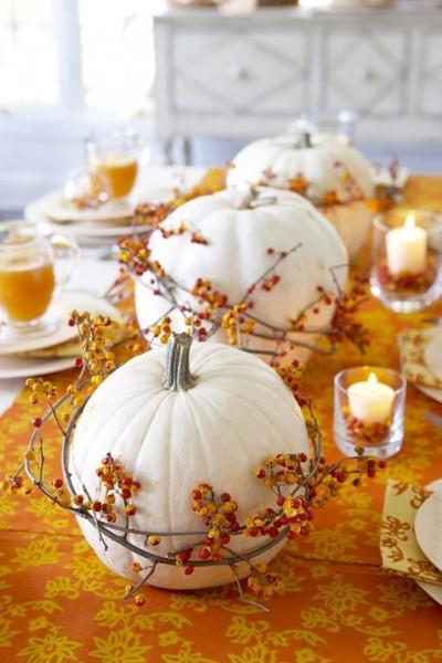Halloween Decorate with pumpkins -  Decorar con calabazas_02
