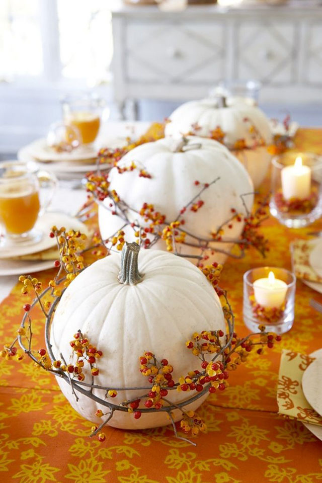 Halloween Decorate with pumpkins -  Decorar con calabazas_02