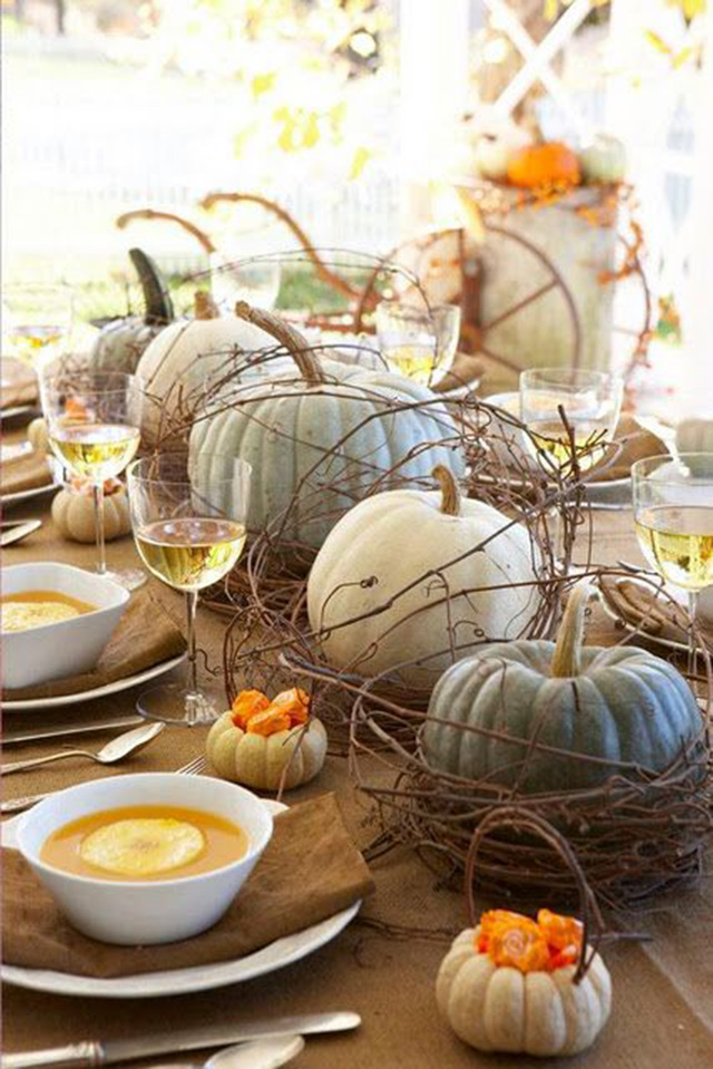 Halloween Decorate with pumpkins -  Decorar con calabazas_03