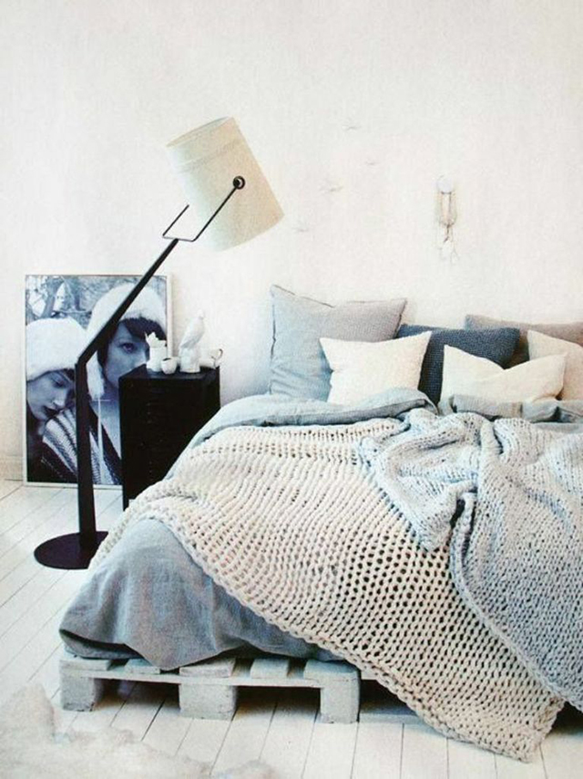 Mantas de punto en el dormitorio - Knit blankets in the bedroom_04