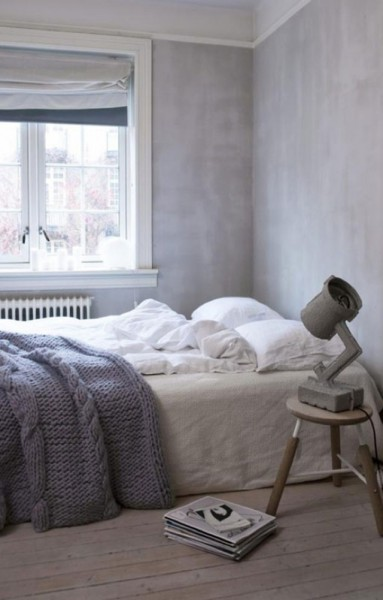 Mantas de punto en el dormitorio - Knit blankets in the bedroom_07