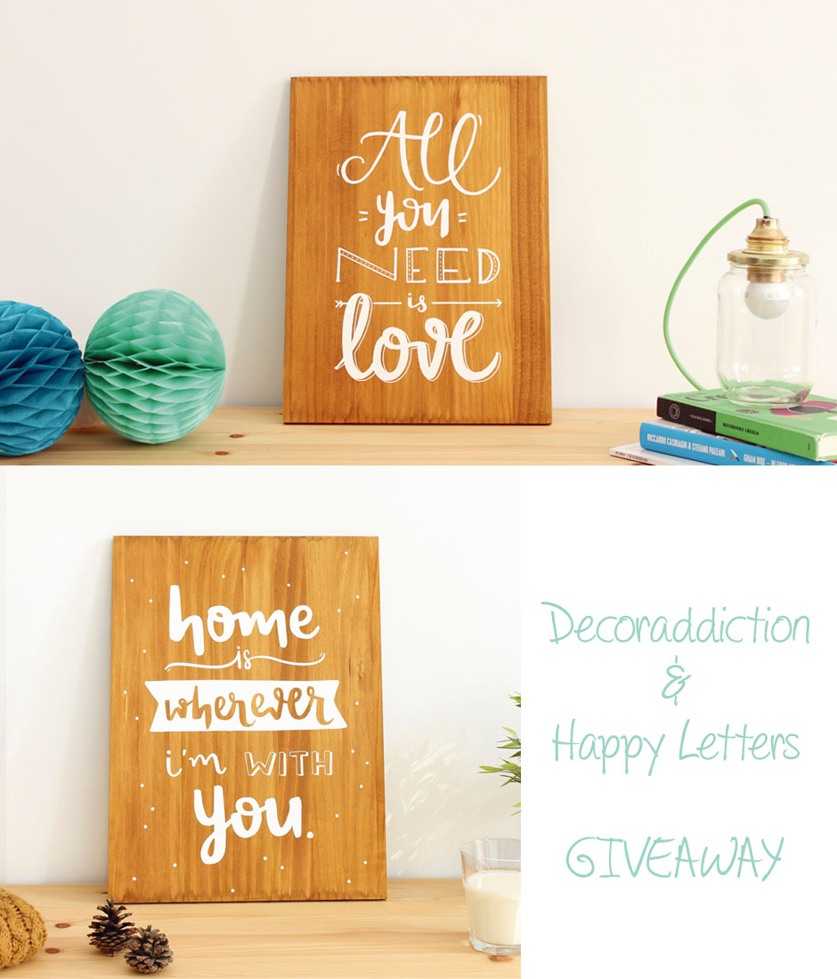 Conociendo a Happy Letters - Getting to know Happy Letters_Giveaway