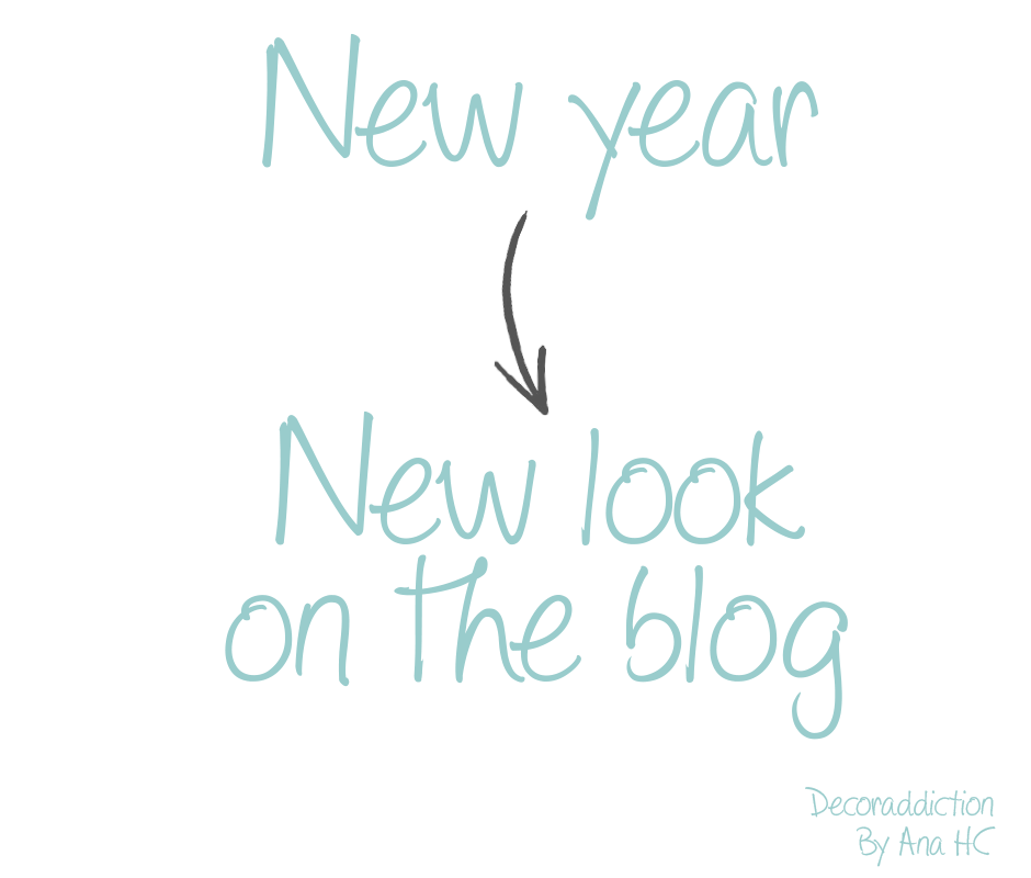 New year - New look on the blog